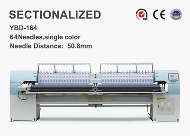 High Speed ​​Sectionalized Bordir Quilt Making Equipment 250mm X Luas